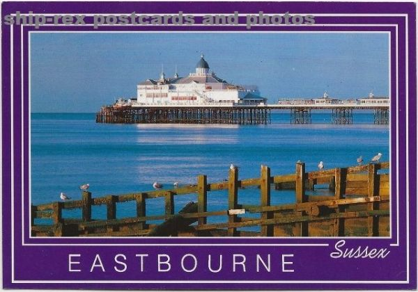 Eastbourne (Sussex) The Pier, postcard